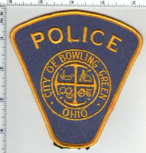 Bowling Green Police (Ohio) 1st Issue Shoulder Patch