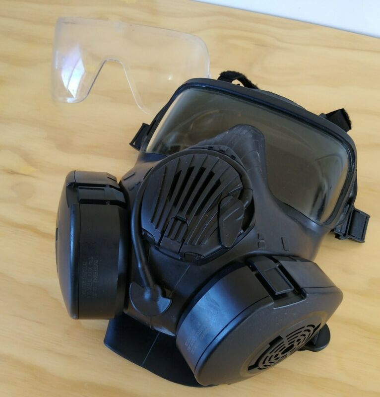 Avon Full Face Respirator M50 Gas Mask CBRN NBC Protection Large w/Filters!!🤗