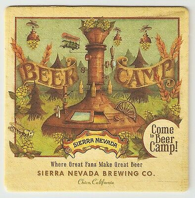 16 Sierra Nevada Come To Beer Camp  Beer Coasters