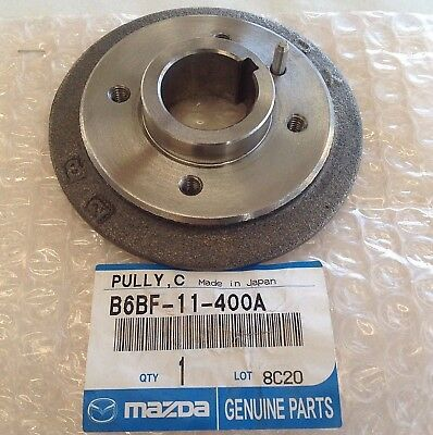 Fast Shipping Genuine 1996-2005 Mazda Miata Crankshaft Pulley Boss B6BF-11-400A - Mazda Miata Crankshaft