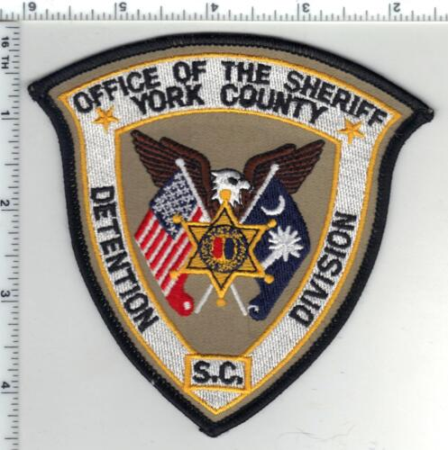 York County Sheriff (South Carolina) 1st Issue Detention Division Shoulder Patch