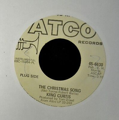 King Curtis Atco DJ 6630 The Christmas Song and What Are You Doing New Years Eve ()