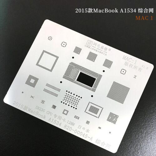 Stencil for A1534 A1708 A2159 SR23G SR2EN SR2NH 95530 CPU T2 A1989/1990 CD3217