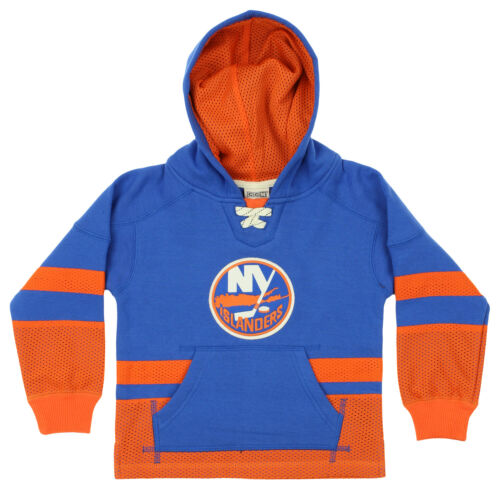 CCM NHL Youth New York Islanders Retro Skate Pullover Hoodie