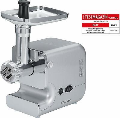 Picadora Trituradora Embutidora de Carne Profesional Engranaje Metalico 3 Discos