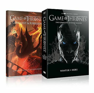 Game Of Thrones S 7 Complete Season 7 Dvd   Free Shipping