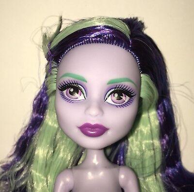 Monster High Coffin Bean Twyla Bogeyman Nude Fashion Doll NEW for OOAK or Play](Twyla Monster)
