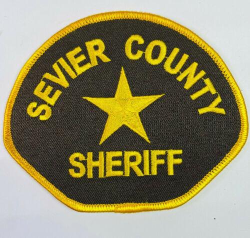 Sevier County Sheriff Utah UT Patch