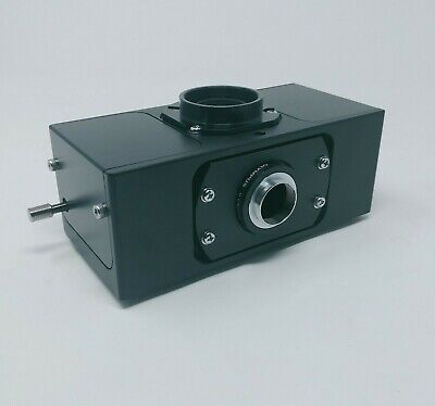 Olympus Microscope U-dpts With U-cmdpts Multi Double Port Tube F. Use W Trinoc