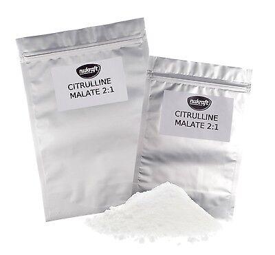 50g puro CITRULINA MALATO polvo 2:1 - uso en farmacia málico ácido