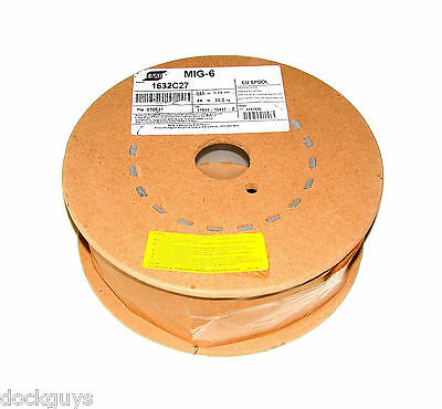 Esab Mig-6 Welding Wire Spool Weight 45 Lbs Size 0.045 Model 1632c27