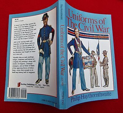 UNIFORMS OF THE CIVIL WAR IN COLOR ~  COST $9.95 ~ BRAND NEW BOOK!