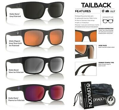 NEW Dragon Tailback H20 Polarized Mens Tr90 Floating Sunglasses (Dragon H20 Sunglasses)