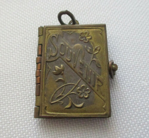 Vintage French Souvenir Book Locket