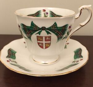 8 Provincial Teacups /Saucers and N.S. Cream & Sugar with Tray