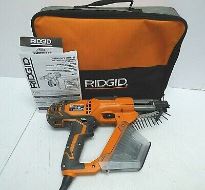 Ridgid R6791 - 3 Corded Drywall And Deck Collated Screwdriver