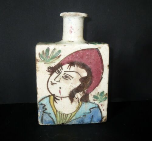 Antique Chinese POTTERY SPICE SCENT BOTTLE VASE Ancient Antiquity