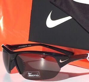 NEW* NIKE Black Polished w Gray Lens SKYLON ACE Sunglass EVO525 001 $150