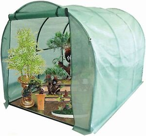 Large Polytunnel Vegetable / Fruit Greenhouse With Strong Reinforced Cover