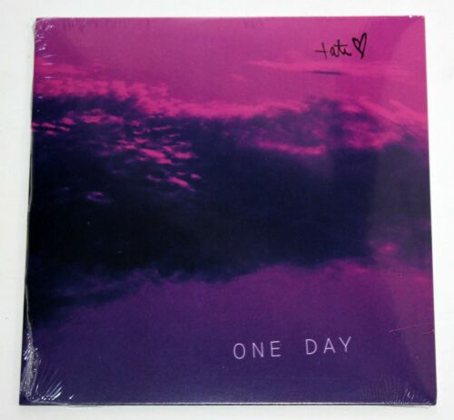 """TATE MCRAE ONE DAY 7"""" VINYL RECORD ALBUM SINGLE /500 SOLD OUT YOU BROKE ME FIRST"""
