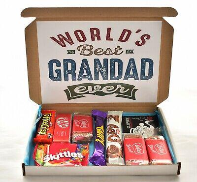 Best Grandad - Selection Box - Gift Hamper - Chocolate Hamper
