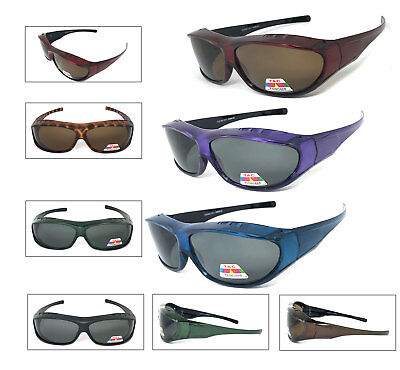 Large Fit Over Sunglasses Polarized Lens Over PRESCRIPTION GLASSES Anit (Prescription Polarised Sunglasses)