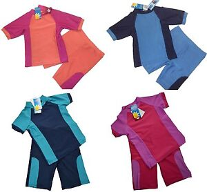 NEW-BOYS-OR-GIRLS-SUN-PROTECTION-SUIT-UV-40-SUNSUIT-SUN-SAFE-SWIMWEAR-SUNSAFE
