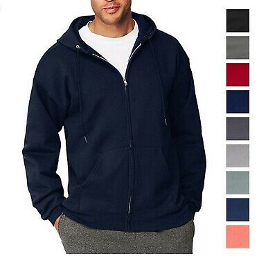 Republic Blues Mens Full Zip Hoodie Sweater 2X 3X 4X 5X 6X  A30832RM