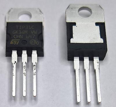 10 x TIP31C  NPN Transistor 100V 3,0A 40W TO220
