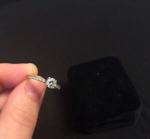 18K WHITE GOLD ENGAGEMENT RING -- Best Price--  Cambridge Kitchener Area image 4