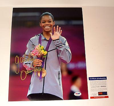Gabrielle Gabby Douglas Rio Olympics Signed Autograph 11X14 Photo Psa Dna Coa C