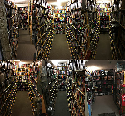 20,099 Movies! World's Largest Collection.4K/Blu-ray/DVD/3D/Criterion/OOP/Rare