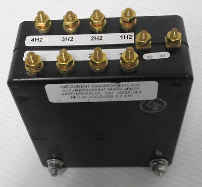Instrument Transformers Inc. 190xsum-4 Ratio 55555a