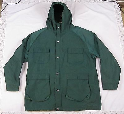 1960's VTG WOOLRICH MEN JACKET Spruce Green XL Hunting OUTDOOR FISHING Nylon USA (1960s Men)