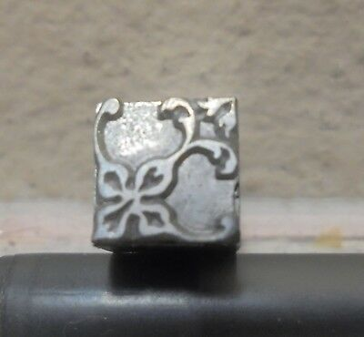 Letterpress Printing Printer Block Press Metal Type Ornament Dingbats Flourish