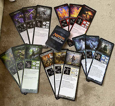 Magic the Gathering Arena of the Planeswalkers Army Cards & Spell Deck complete
