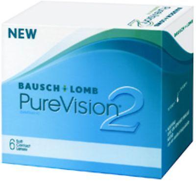 Pure Vision 2 HD 2 x 6 Monats Kontaktlinsen Bausch & Lomb alle Stärken