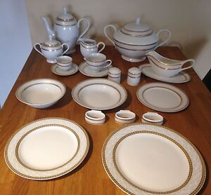 12 person plate set
