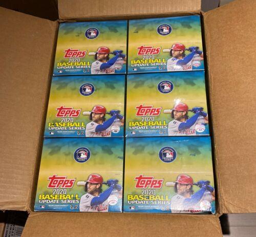 2020 Topps UPDATE Series Baseball Factory Sealed Retail Box 24 Packs 384 Cards
