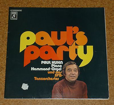 LP DLP  Paul Kuhn Paul`s Party Piano EMI