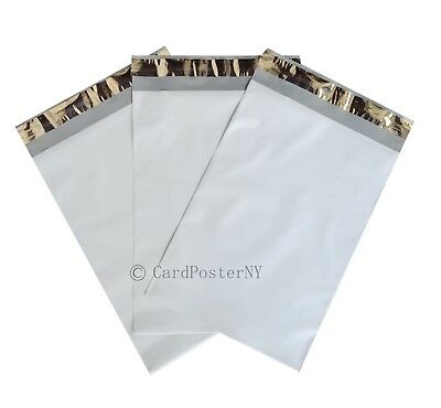 100 EcoSwift Size #2 7.5 x 10.5 White Poly Mailers Self Sealing Bulk Packaging Materials Shipping Supplies Envelopes Bags 7.5 inches by 10.5 inches