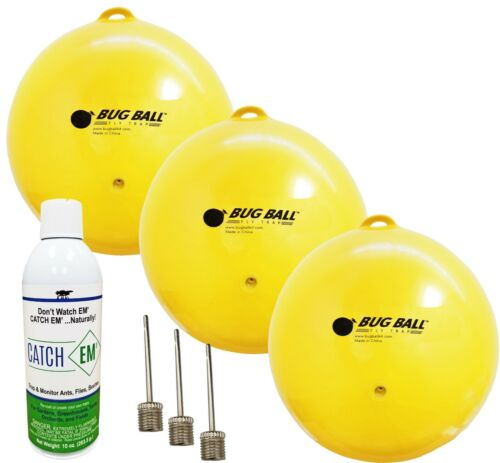 Gnat Ball Deluxe kit - Gnats, House Fly, No-See-Um, Aphids whiteflies