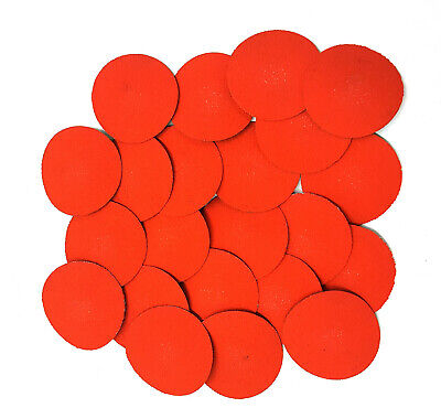 3 Inch Quick Change Roll Onoff 36 Grit Locking Ceramic Abrasive Discs -50 Pack