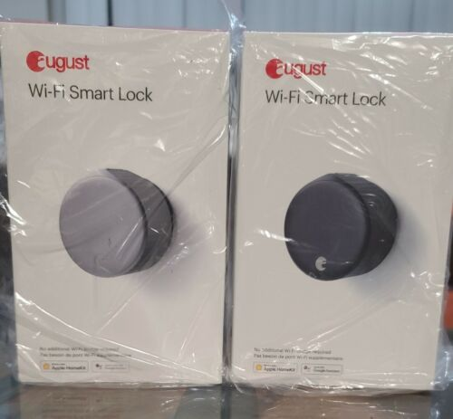 Brand New August - Wi-Fi Smart Lock  - Silver