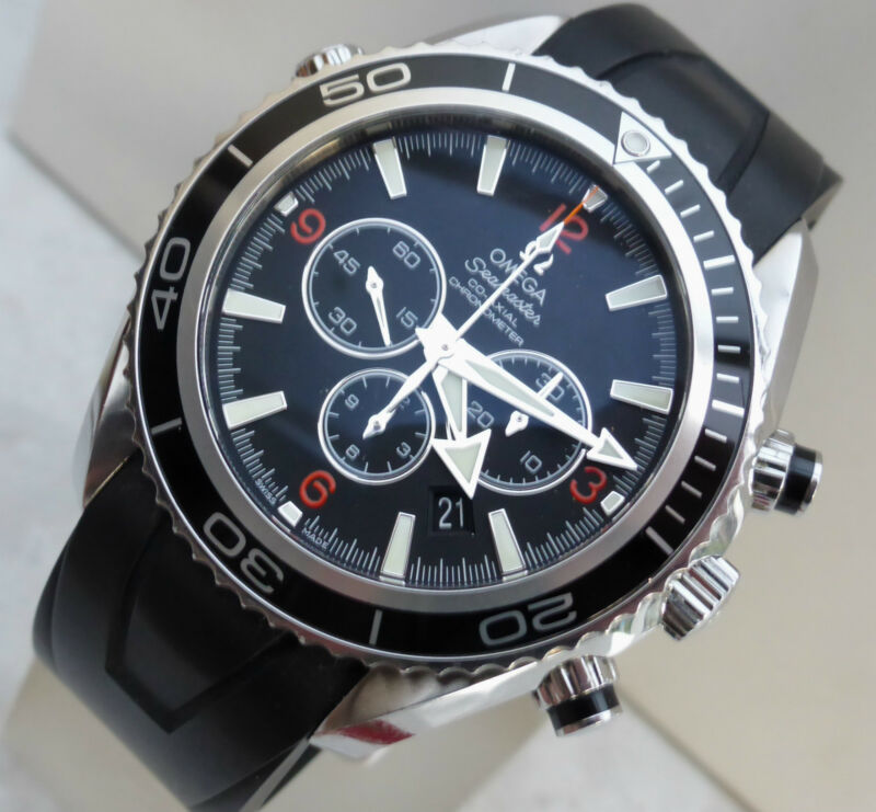 XL OMEGA SEAMASTER PROFESSIONAL PLANET OCEAN CHRONO AUTO MENS WATCH REF.29105182 - watch picture 1