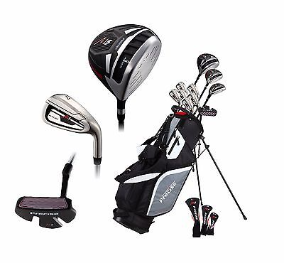 NEW Precise M5 Mens Complete Right Handed Golf Club Package Set