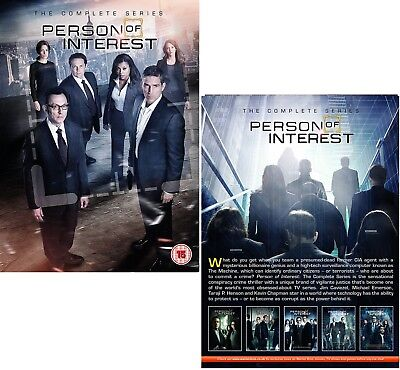 PERSON OF INTEREST 1-5 2011-2015 COMPLETE TV Action Series Seasons R2 DVD not US