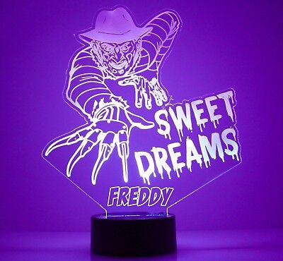 ULTIMATE FREDDY KRUEGER figure A NIGHTMARE ON ELM STREET Night Light Lamp