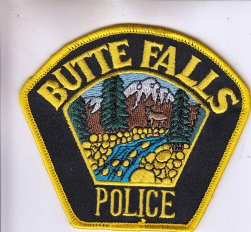 BUTTE FALLS POLICE SHOULDER PATCH OREGON OR