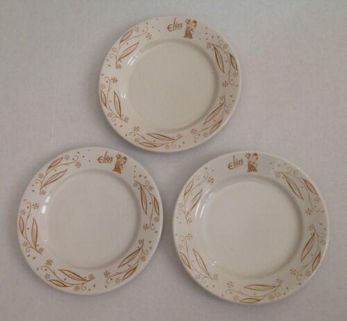 Early Elias Bros. Big Boy Restaurants China. Three- Nine inch Dinner Plates